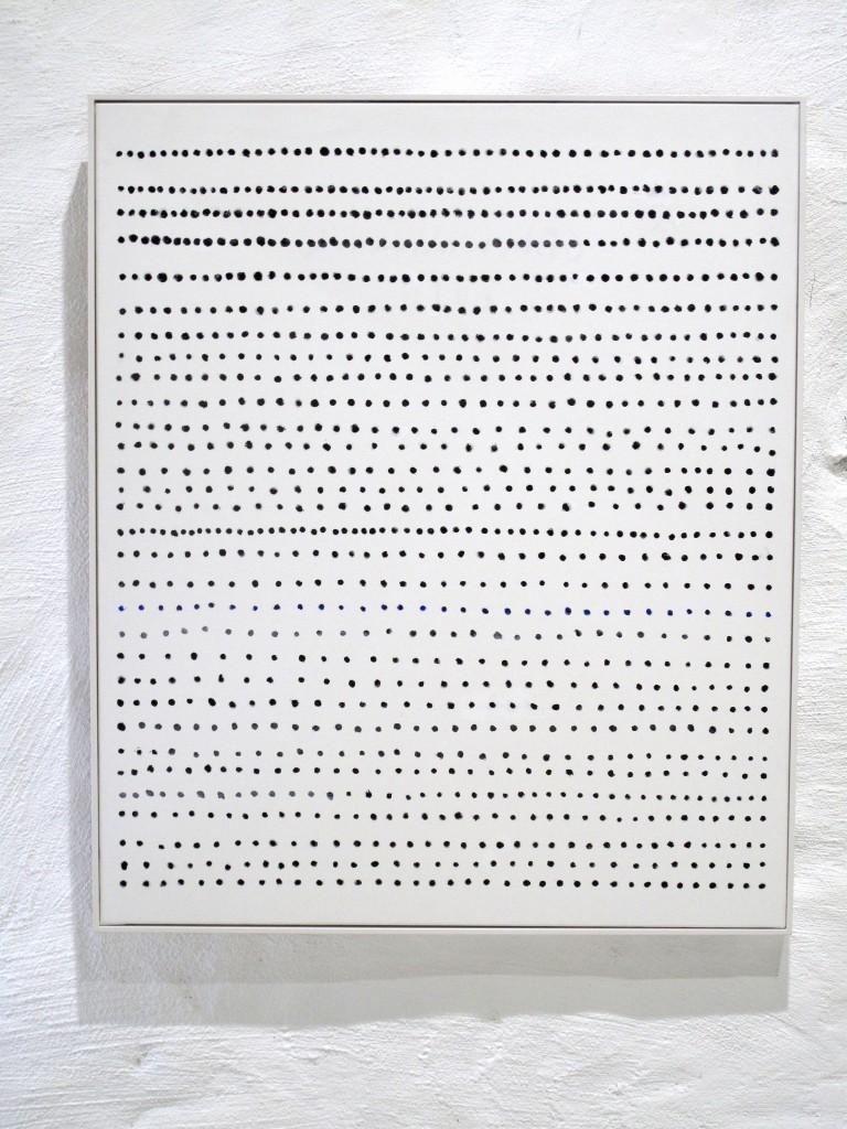 Gösta Wallmark-Morgon, 2016, akryl på duk, 96 x 76 cm.