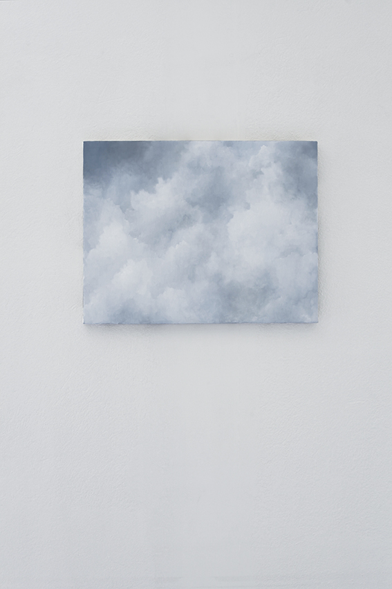 Jakob Solgren-Himmel dag 7, 2016. Opd, 35x45 cm.