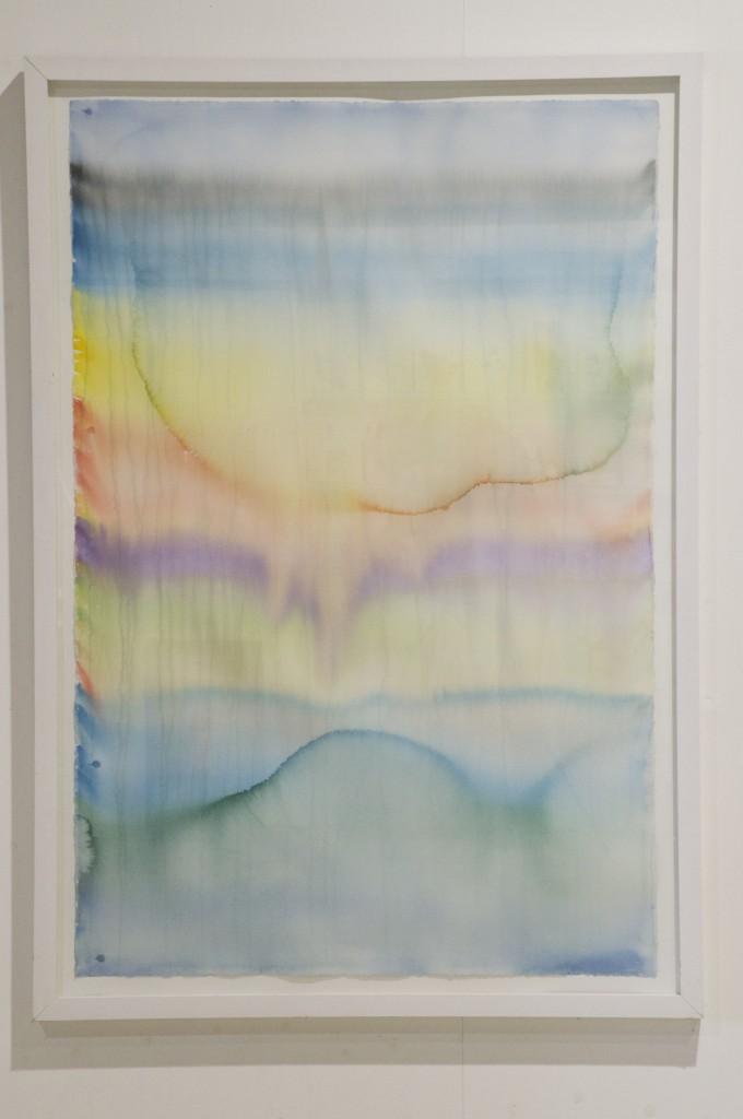 79° North A, 2007. Akvarell på papper, 152 x 102 cm. Pris 16000:-
