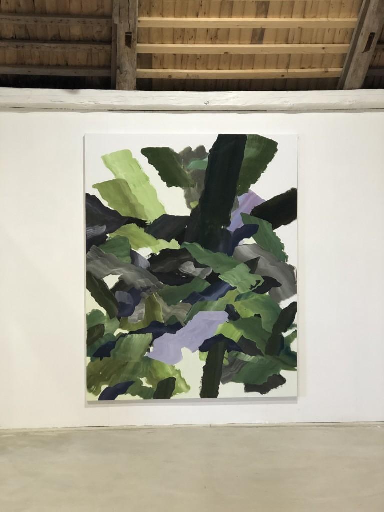 Niki Cervin-Bark, opd, 200x160 cm.