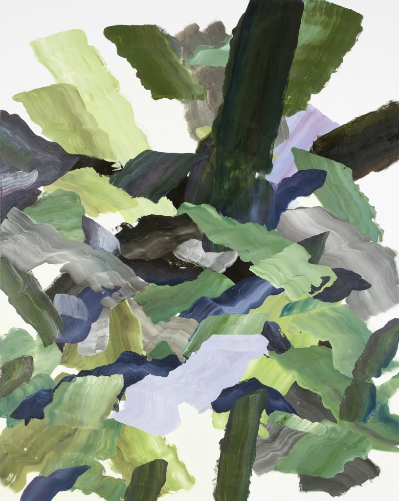 Niki Cervin- Bark I, 2020, olja på duk, 200x160 cm.