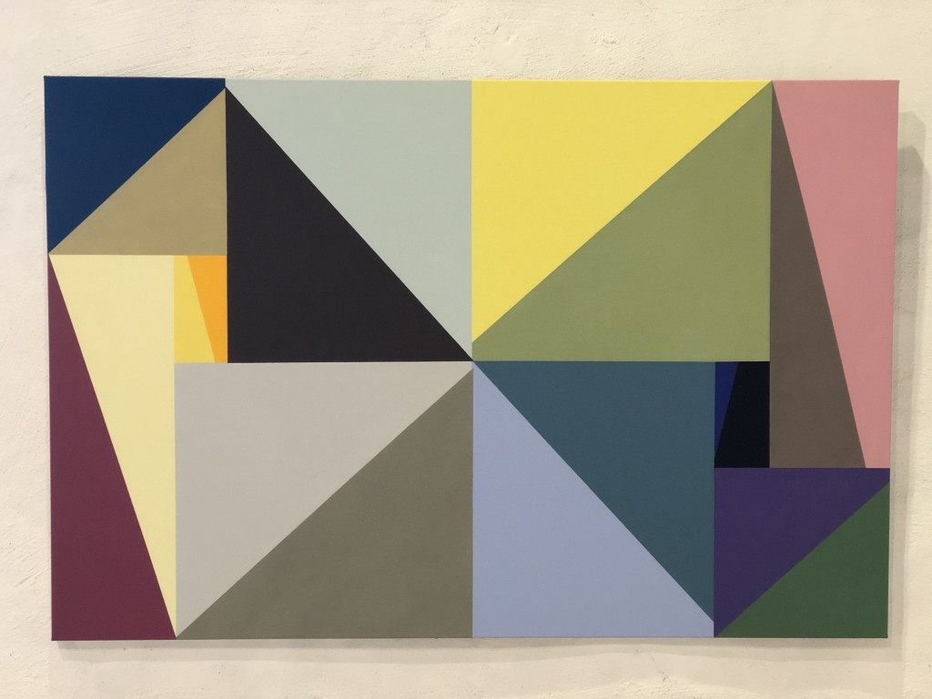 Maria Lavman Vetö, portaler N, 2020, akryl på duk. 100x150 cm