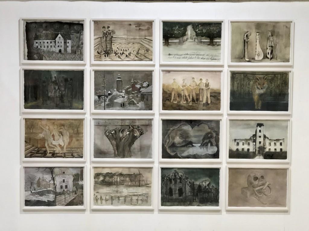 L&B. Watercolors, 2020, 43x62 cm.
