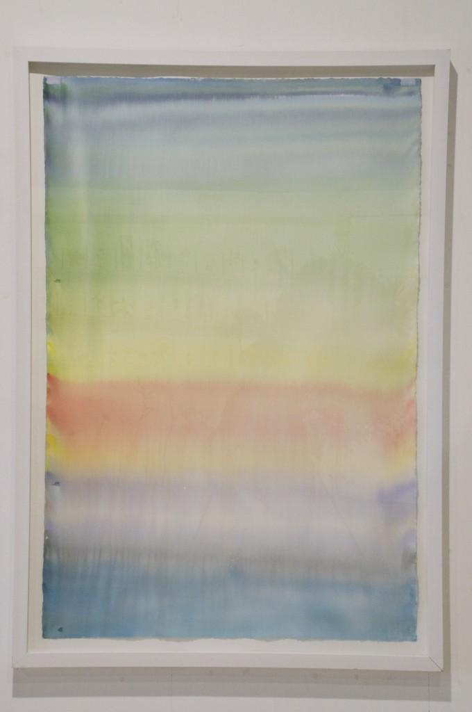 79° Nprth B, 2007. akvarell på papper, 152 x 102 cm. Pris 16000:-